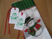 SALE-10 Christmas Treat Bags With Tags Handmade By Me in Ramstein, Germany