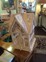 Hand Painted, Table-Top Bird House/Terrarium in Beaufort, South Carolina