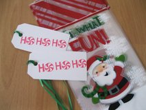 SALE - 10 Christmas Treat Bags With Tags Handmade By Me in Ramstein, Germany