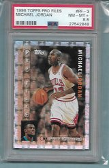 SUPER RARE MICHAEL JORDAN TOPPS INSERT GRADED CARD in Ramstein, Germany