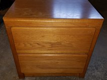 Oak Nightstand (2-drawers) in Plainfield, Illinois