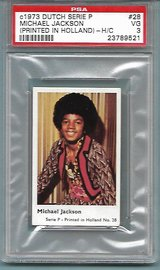 SUPER RARE 1973 MICHAEL JACKSON ROOKIE CARD in Ramstein, Germany
