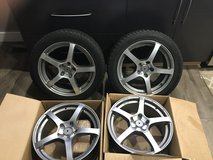 17' winter tires and wheels in Plainfield, Illinois