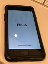 iPhone 6 Black 64gb with Otterbox Case UNLOCKED in Ramstein, Germany