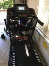 Sole F63 Treadmill w/mat  Like NEW in Beaufort, South Carolina