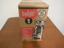 Insinkerator Badger 1 Garbage Disposal - New in unopened Box in Cleveland, Texas