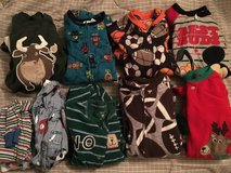Lot of boy 2T pajamas in Aurora, Illinois