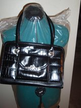 Purse with Silver Heart Embelishment in Kingwood, Texas