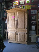 SOLID WOOD CABINET / ARMOIRE in Yucca Valley, California