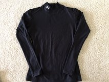 Women's Under Armour COLD GEAR Black Compression Top Size Large in Tinley Park, Illinois
