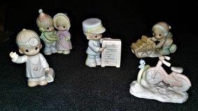 "5 VINTAGE ""PRECIOUS MOMENTS SUGAR TOWN"" FIGURINES, EXC COND in Camp Lejeune, North Carolina"