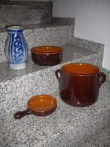 Clay pots and pans in Ramstein, Germany