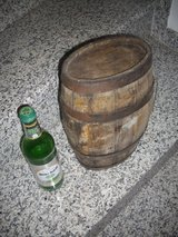 little oak barrel in Ramstein, Germany