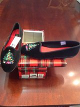 NEW Embroidered Christmas Velvet Shoes in Moody AFB, Georgia