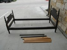 Vintage/Antique Twin Bed - Wooden Frame in Bellaire, Texas
