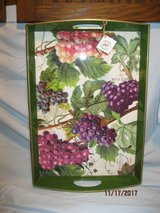 Michel Botanical Grapes Serving Tray, brand new in St. Charles, Illinois