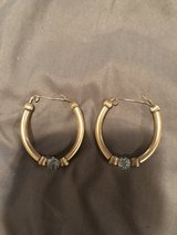 Gold filled bangle earrings in Beaufort, South Carolina