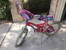 Child's Pink & Flower Bicycle in Houston, Texas