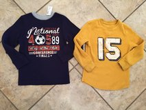 Boys thermal tops new w tags $5 each $9 both in Leesville, Louisiana