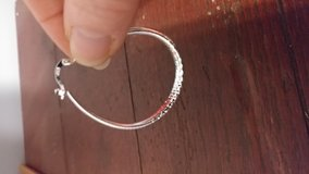 Hoop Etched Earrings in Hopkinsville, Kentucky