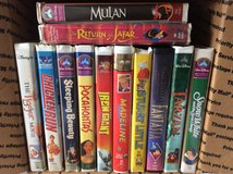 12 Disney VHS in Warner Robins, Georgia