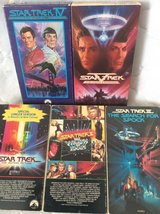 VHS: Star Trek-The Motion Picture 1-5 in Macon, Georgia