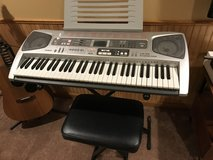 Casio piano keyboard in Oswego, Illinois