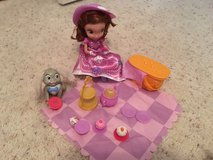 Sophia the First picnic play set in Houston, Texas