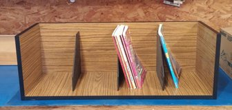 Teachers Wooden Book Shelf in Cherry Point, North Carolina