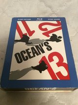 Blue Ray: OCEAN'S 11 12 13 Box Set in Warner Robins, Georgia