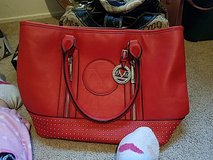 Italiais 1969 red purse with storage bad in 29 Palms, California