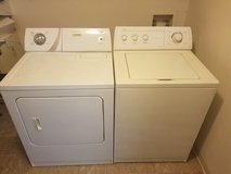 Washer and dryer in Leesville, Louisiana