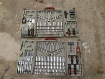 Two Crescent Tool Sets in Oswego, Illinois