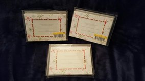 3 NIB Photo Christmas Cards, 30 total in Plainfield, Illinois