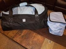 Jeep Duffel luggage  XL  with bonus Cooler bag in Bolingbrook, Illinois