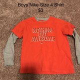 Boys Nike Size 4 Shirt in Naperville, Illinois