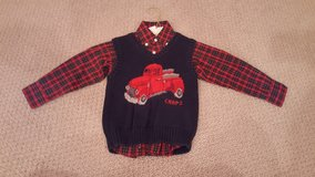 Chaps Boys Plaid Dress Shirt and Sweater Vest in Naperville, Illinois