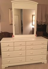 Bassett dresser and mirror set in Plainfield, Illinois