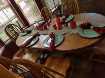DINING RM TABLE (HUTCH INCL ON SEPARATE POSTING) in Oswego, Illinois