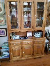 HUTCH (WITH MATCHING DINING RM TABLE) in Oswego, Illinois