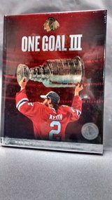"NEW FACTORY SEALED 2015 BLACK HAWKS ""ONE GOAL III"" in Algonquin, Illinois"