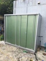 Japnese Metal Storage Shed in Okinawa, Japan
