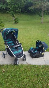 Safety First Stroller and Infant car seat w/ base in Okinawa, Japan