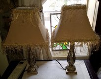 Shabby sheek lamps in Yucca Valley, California