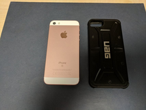 iPhone SE 64gb unlocked Rose Gold in Lakenheath, UK