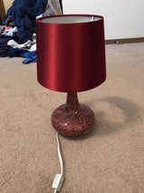 red lamp in Fort Leonard Wood, Missouri
