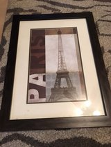 Paris framed pic. in Fort Leonard Wood, Missouri