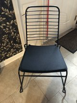 room essentials stacking chair wire black in Elizabethtown, Kentucky