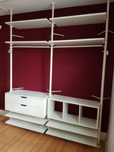 Ikea Shelf and Double Drawer Storage Area in Stuttgart, GE
