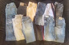 12 Pair of Boys Jeans and Pants size 8 in Fort Campbell, Kentucky